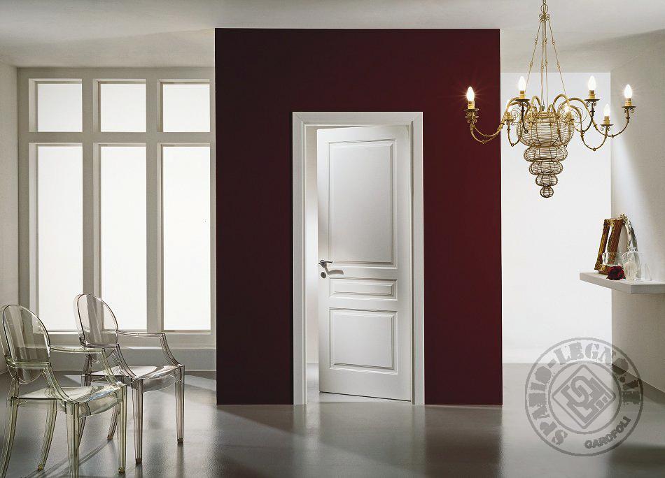 Garofoli porte interne legno massello in trentino spazio - Porte interne garofoli ...