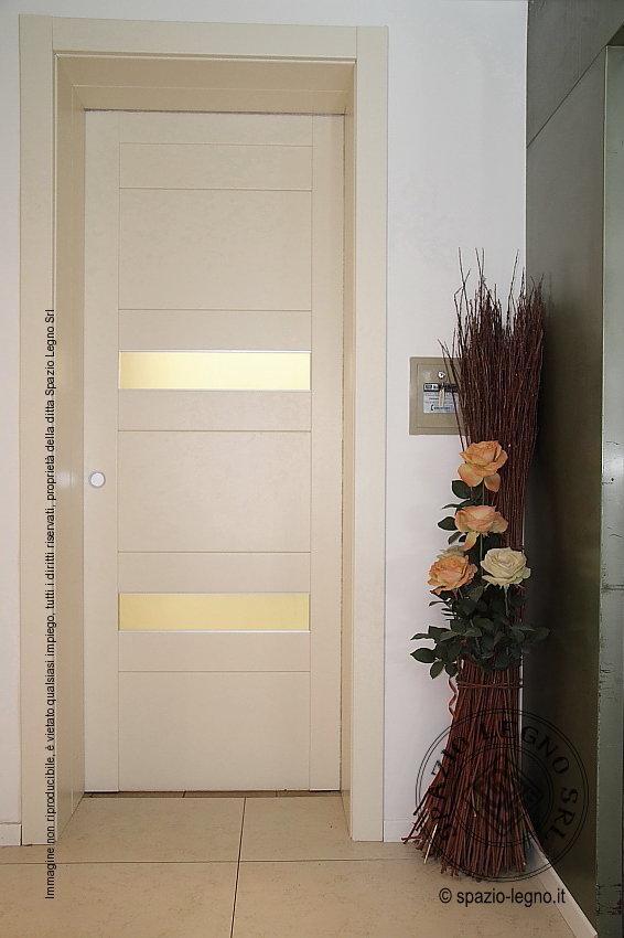 Porte rei 30 per hotel e alberghi in colore bianco con inserti - Porte interne bianche ...