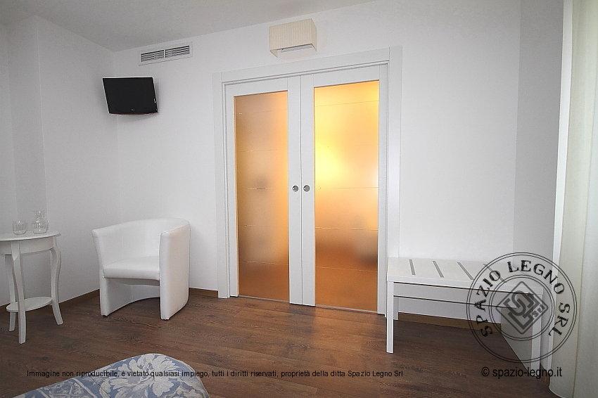 Emejing porte scorrevoli doppia anta ideas - Porta scorrevole doppia ...