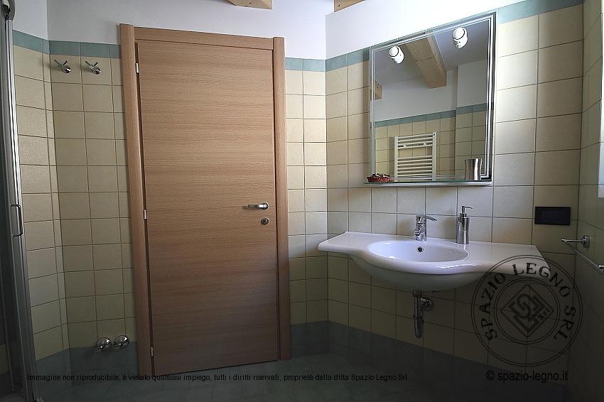 porta rovere laminato bagno