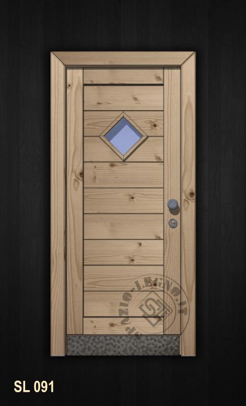 Portoni in legno rustici pannelli termoisolanti - Portoncini ingresso prezzi ...