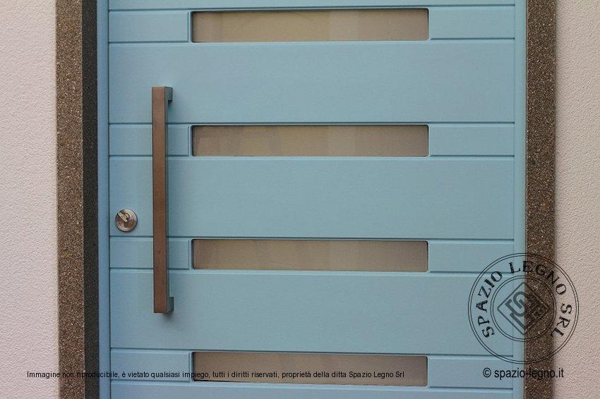 portone, ingresso, legno