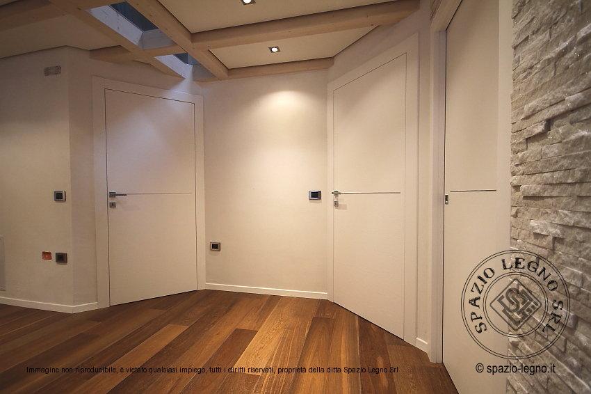 Porta bianca per arredo appartamento e qualsiasi - Porte da interno bianche ...